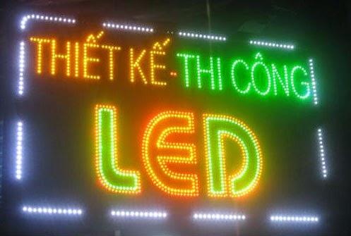 Làm biển quảng cáo LED bên đẹp, giá rẻ