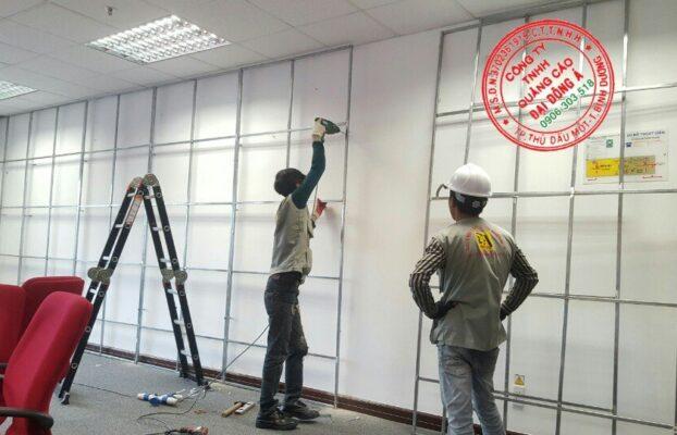 Làm bảng hiệu quảng cáo cho công ty bảo vệ tại Tân Uyên