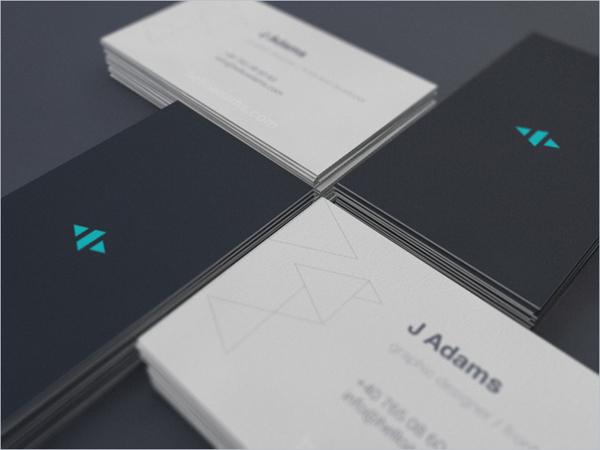 Mẫu name card đơn giản, hiệu quả cao